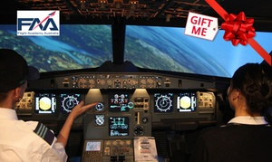 Flight Deck Experience: Airbus A320 Flight Simulator - 30 Minutes ($69) or One Hour ($135) with Flight Deck Experience (Up to $275 Value)