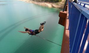 Gontaventura: 1, 2 o 4 saltos de puenting para una o dos personas con reportaje de fotos y vídeo desde 16,95 € en BAÑOS DE MULA