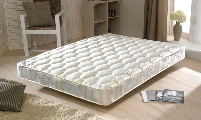 Groupon Goods Global GmbH: Bonnell Sprung Mattress from £74.99 With Free Delivery (56% Off)