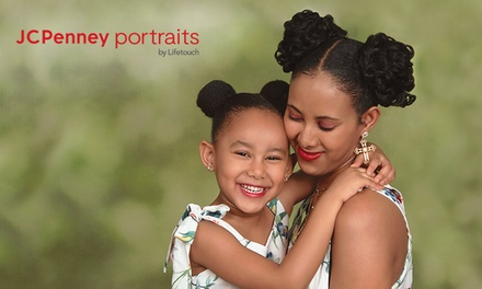 groupon.com - Photography Shoot with Prints of One Pose and Optional Digital Image at JCPenney Portraits (Up to 92% Off)