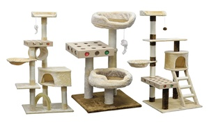 Go Pet Club IQ Busy Box Cat Trees