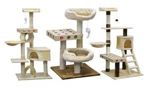 Go Pet Club IQ Busy Box Cat Trees