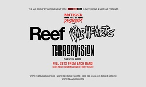 Alchemy Promotions Limited: Reef, The Wildhearts, Terrorvision, 5–26 May, Seven Locations (Up to 27% Off)