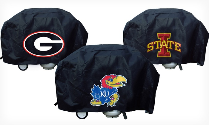 NCAA Deluxe Grill Covers: $24.99 for a NCAA Deluxe Grill Cover ($45 List Price). Multiple Teams Available. Free Shipping.