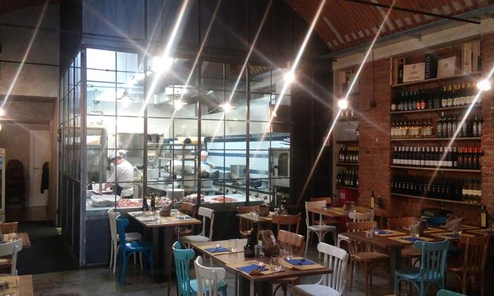 Cena di mare con crostacei e vino - Trattoria Il Marinaio  de04736872da