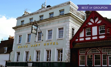 East Sussex: 1 or 2 Nights for Two with Breakfast, 3-Course Dinner, Late Check-Out and Spa Access at White Hart Hotel