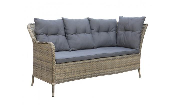 groupon kensington sofa set. groupon goods global gmbh: oseasons® kensington rattan eight-seater corner sofa dining set e