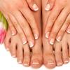 55% Off Spa Manicure and Pedicure