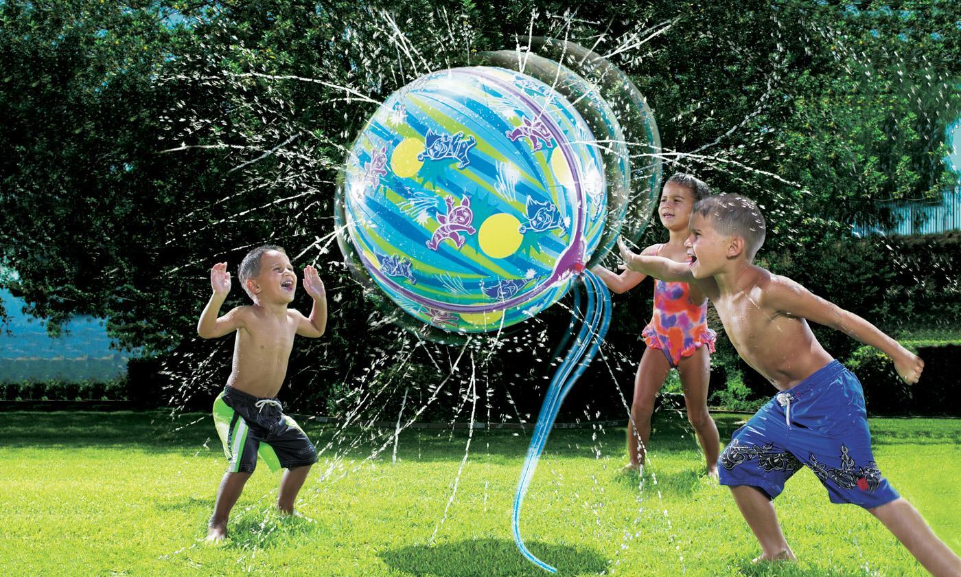 One or Two Banzai Aqua Splash Beach Balls