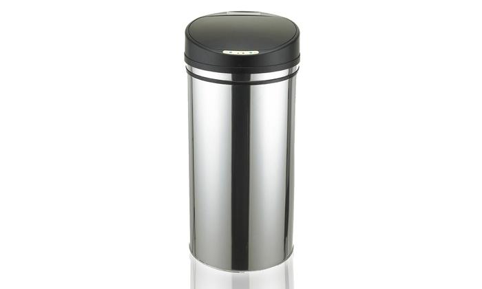 Cubo de basura con sensor de movimiento groupon goods - Cubo de basura con sensor ...