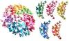 12 o 60 mariposas 3D decorativas para la pared