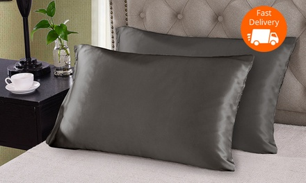 Two $39 or Four $69 Mulberry Silk Pillowcases Don't Pay up to $458