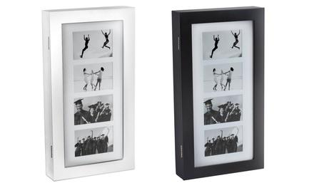Sieradenwandkastje met 4 fotolijstjes in verschillende kleuren voor € 29,98