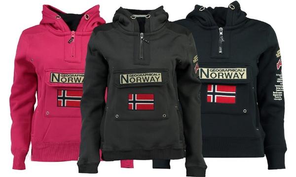 Felpa con cappuccio da uomo Geographical Norway