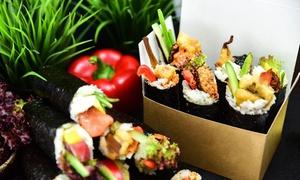 Hand'n'roll: Uczta sushi z deserem dla 2 osób za 49,99 zł i więcej opcji w Hand'n'roll (do -47%)