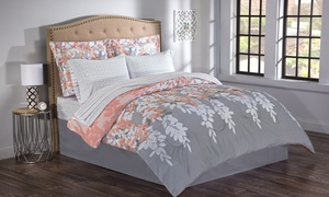 Reversible Printed Bed-in-a-Bag Set (8-Piece)