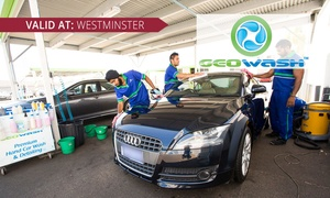 Geowash Wesminster: From $15 for Car Cleaning Package or Headlight or Paint Restoration Service at Geowash Westminster (From $25 Value)