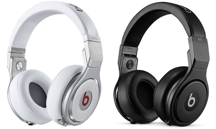 Beats Pro Over-Ear Wired Headphone (Refurbished, A Grade) | Groupon