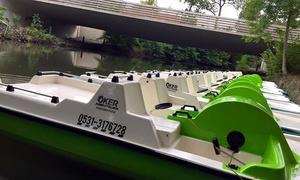 Floßstation Braunschweig: 50% Rabatt auf 2 Std. Bootsverleih für Boot nach Wahl bei der Floßstation Braunschweig