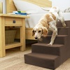 High-Density Foam Stairs for Pets with Removable Microsuede Cover