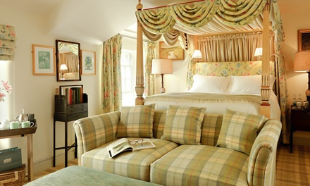 Chatsworth Estate: 1 Night for Two in Four-Poster Room with Breakfast and Dinner at The Devonshire Arms at Pilsley