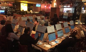Up to 60% Off Painting Class at Uncork and Color