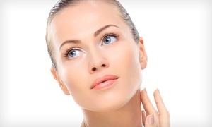 TECNIESTETICA: 1 o 3 sesiones de tratamiento facial con mesoterapia virtual y diseño de cejas desde 29,95 €