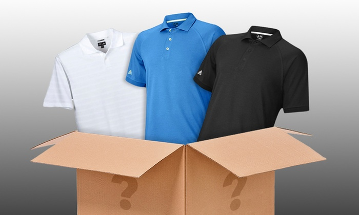 Adidas Men's Polo Mystery Deal