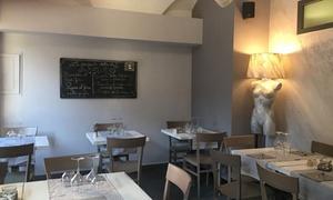 Ristorante Pizzeria Beluga: Menù di pesce di 4 portate con dolce e vino per 2 o 4 persone al Ristorante Beluga (sconto 54%)