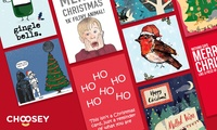 50% Off Personalised Greeting Cards at Choosey.com
