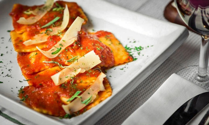 Vino Rosso - Downtown Toronto: Italian Lunch for Two or Italian Dinner for Two or Four at Vino Rosso (Up to 55% Off)