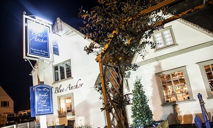 image for Two-Course Meal with Wine or Cocktails for Two or Four at The Blue Anchor (Up to 60% Off)