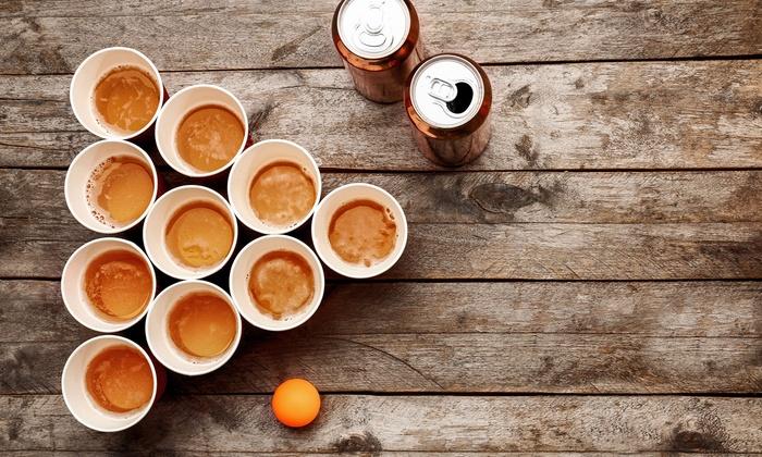 Gioco alcolico Birra Pong