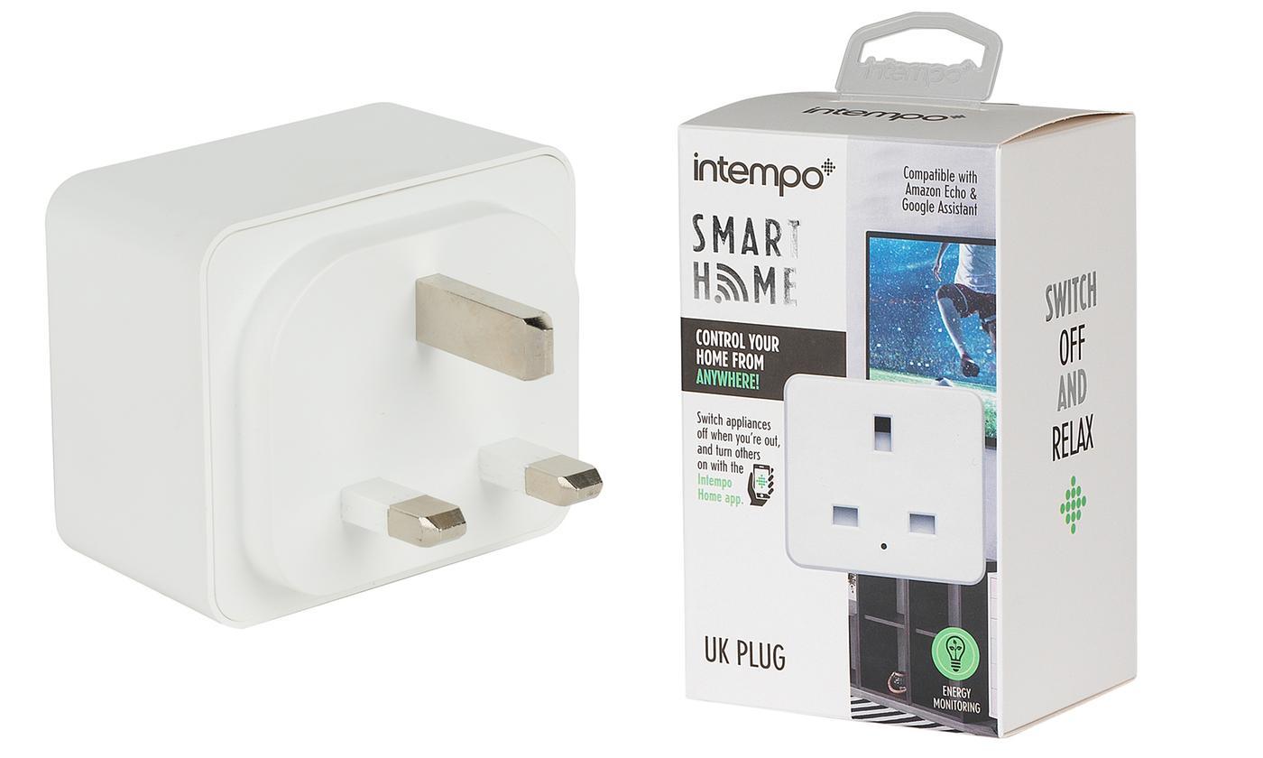 Intempo Three-Pin Smart Plug