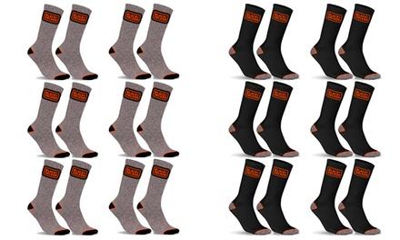 Set di 12 paia di calze per uomo