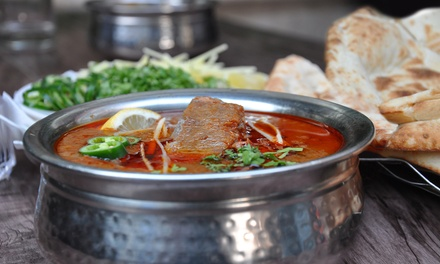 Up to AED 150 Toward Food and Drink or Nihari, Naan and Drinks for Two or Four at B&B, Three Locations (Up to 51% Off)