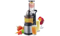 Extracteur de jus à rotation lente pour fruits entiers, smoothies et glaces Fridja