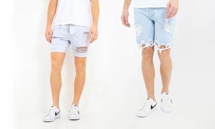 Pantaloni corti in jeans Brave Soul