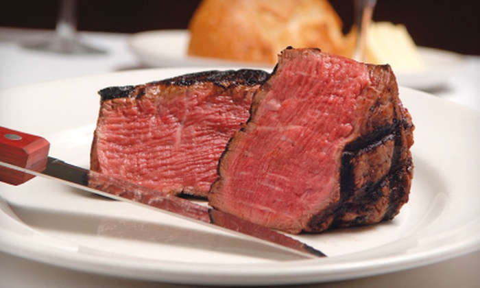 801 Chophouse - Downtown Des Moines: $40 for $80 Towards Steak and Wine at 801 Chophouse