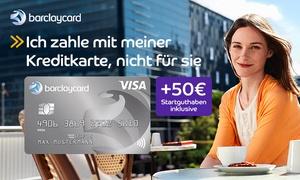 Barclaycard: Barclaycard New Visa mit 50 € Startguthaben