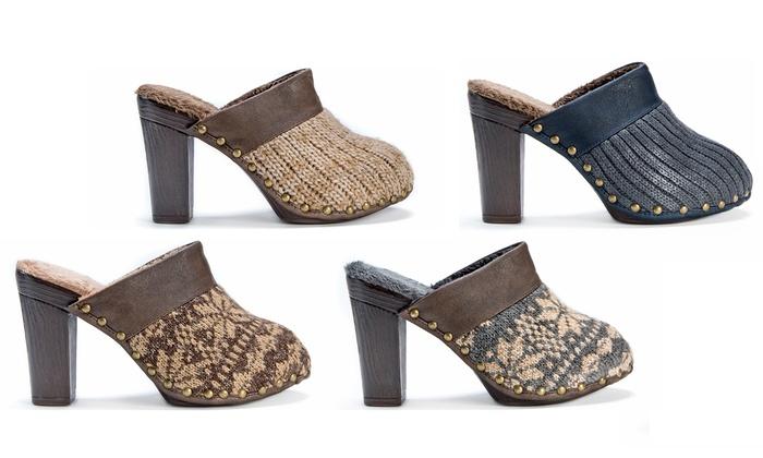 Muk Luks Kameryn Women's Heel Clog