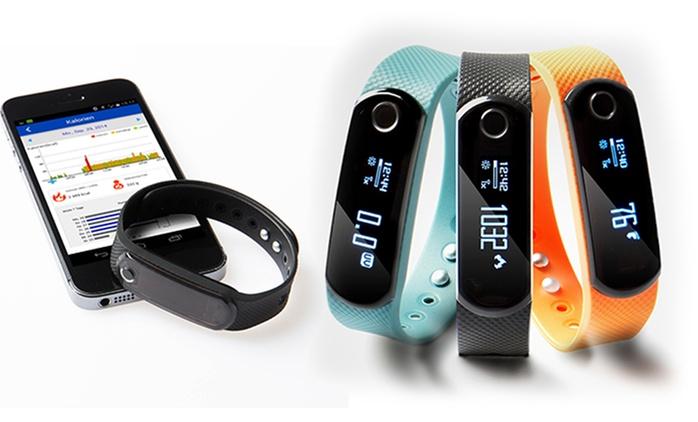 SportPlus Activity Tracker Q-Band X mit 3 Armbändern (22% sparen*)