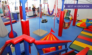 We Rock the Spectrum Kid's Gym: Three or Five Open-Play Sessions or a Month of Open-Play Sessions at We Rock the Spectrum Kid's Gym (Up to 49% Off)