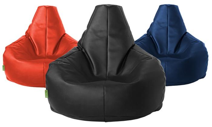 Amazing Lounge Lizard Bean Bag Groupon Andrewgaddart Wooden Chair Designs For Living Room Andrewgaddartcom