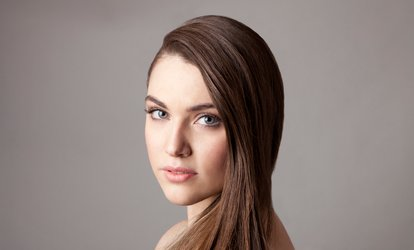 image for Haircut & <strong>Highlights</strong> or <strong>Color</strong> at Shear Faith Beauty Salon (Up to 64% Off)