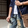 Valencia Multifunctional Canvas Cross-Body Bag for Men and Women