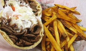 George's Gyros-North Chicago: $7 for $10 Worth of Gyros and Sandwiches at George's Gyros