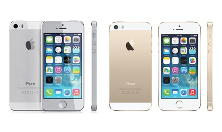Refurbished Apple iPhone 5s 16GB gold (£219.99) or 64GB silver (£269.99) With Free Delivery