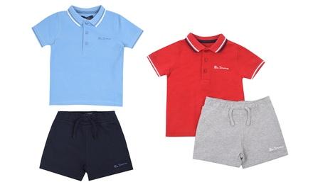 Conjunto deportivo de polo y pantalón corto para niños England Football