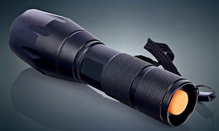 Luxe military zaklamp set met box groupon goods - Zoom ontwerp ...